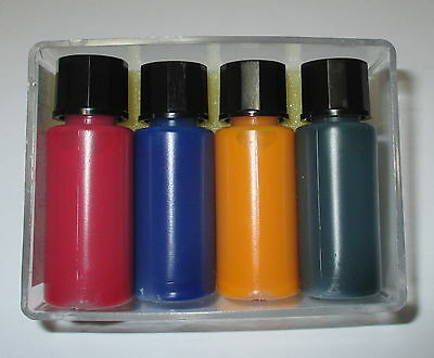 [1l = light bulb dipping paint each 10ml blue red yellow green NEW