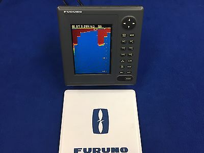 Furuno FCV-600L Color LCD Fishfinder Sounder W/ Cover, 100% Perfect Working!