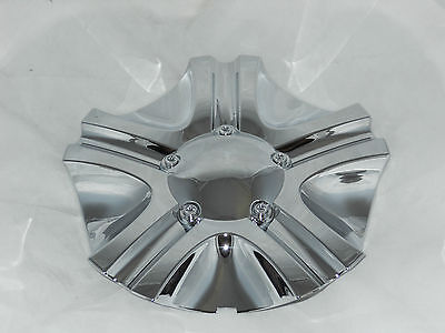 "Voodoo Skull 403 Wheel Rim Center Cap No Logo Fits 20"" 22"" C-066 3208-06 S509-70"