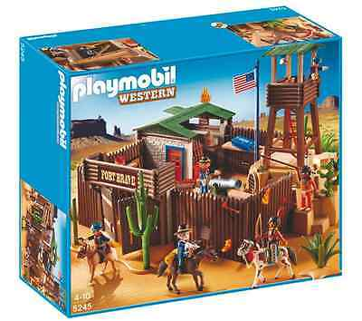 Playmobil Western Fort Play Set 5245 Brand New