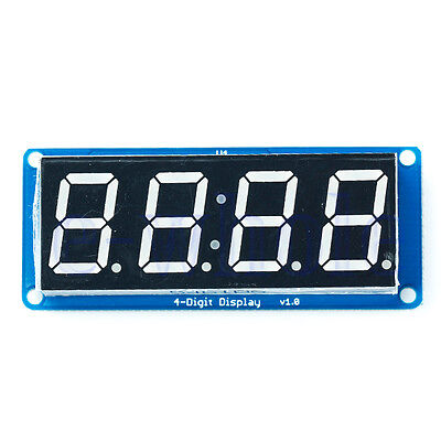 "0.56"" LED 4-Digit Tube Display (D4056A) Module with Time Clock for Arduino BE"