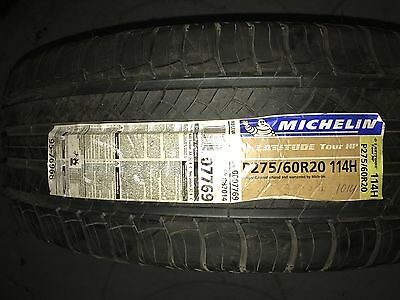 Set of 4 275/60/R20 114H MICHELIN LATITUDE Tour HP