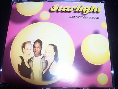 Starlight Just Can't Get Enough Australian Remixes CD Single – Like New