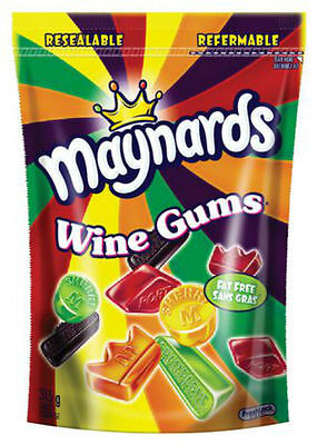 4 x 1kg Maynards Wine Gums - Straight from Canada, ships from the US