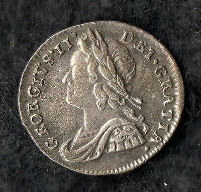 George II Maundy Penny Silver 1740
