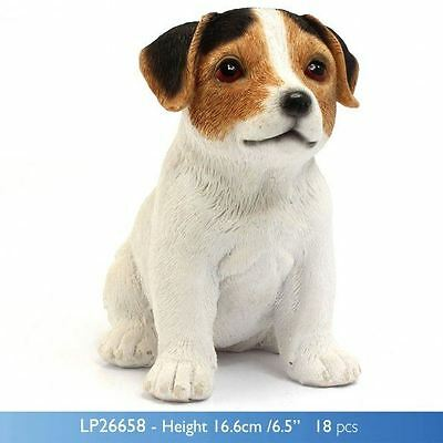 LP26658 Leonardo puppy studies Jack russell dog ornament figurine