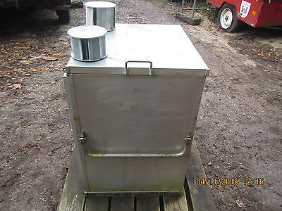 US Military Army Field Range Stove Compact Cooking Station Burner Oven 81x65x90