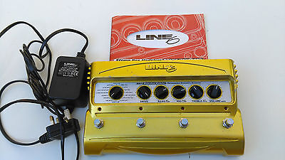Line 6 Dm-4 Distortion Modeler With Original Power Adapter - Free Next Day Uk