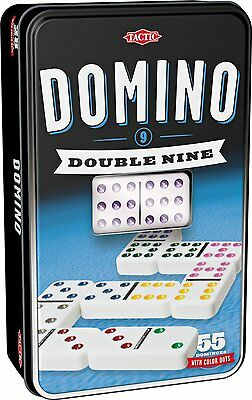 Double 9 Dominoes - Tin of Double Nine Dominoes *BRAND NEW*