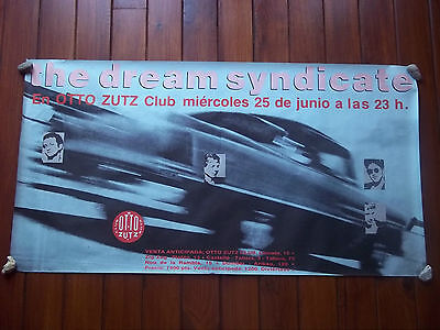 The Dream Syndicate 1986 Concert Poster Barcelona