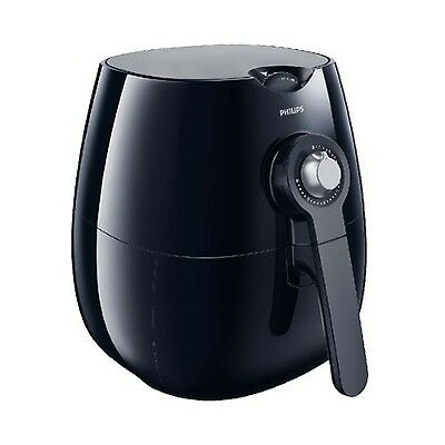 Philips HD9220/20 Healthy Low Fat Oil Free Airfryer Rapid Air Chip Fryer - Black