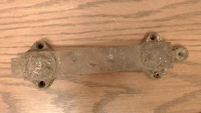 Antique Cast Iron Victorian Eastlake? Pull Chain Door Latch