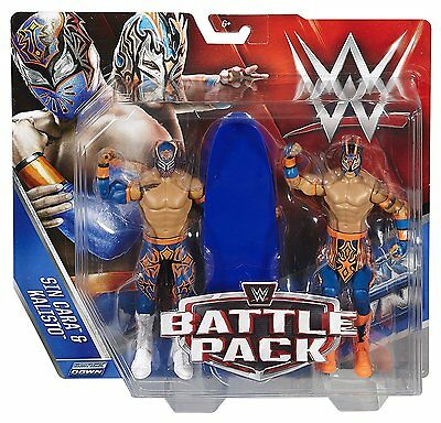 Wwe  Battle 2 Pack Sin Cara & Kalisto Figure Series 42