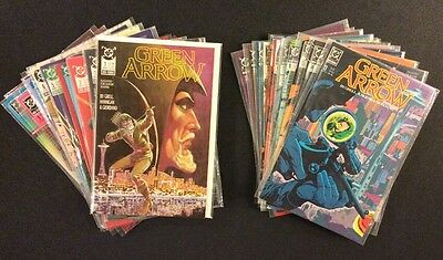 GREEN ARROW #1 - 24 Comic Books FULL RUN Mike Grell Black Canary TV Show DC 1988