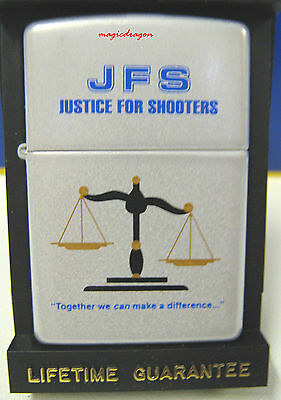Justice For Shooters Zippo Lighter