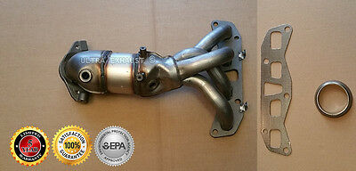 2005-2006 Nissan X-Trail 2.5L Exhaust Manifold Catalytic Converter Direct-Fit