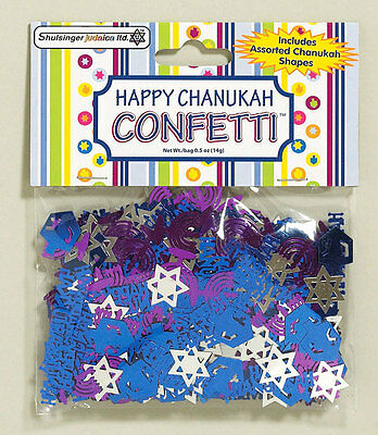 HAPPY CHANUKAH CONFETTI - Jewish Holiday Gift - Hanukkah Chanukkah