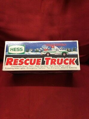 1994 Hess Toy Rescue Truck Vintage NOS