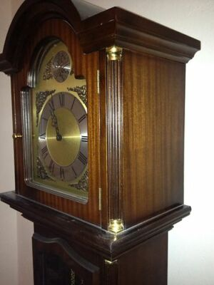 engl. Standuhr mit Westminster Gong