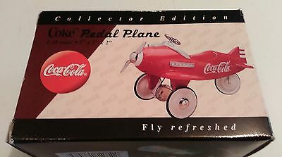 Collector's Edition Coke Pedal Plane Never used, Nice!!!