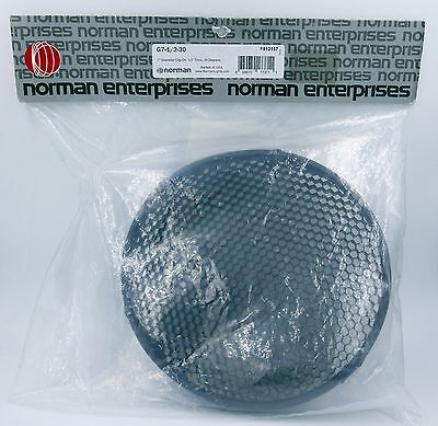 "Norman Enterprises 7.5"" 30º Honeycomb Grid Light Modifier NIP!! Free Shipping!!"