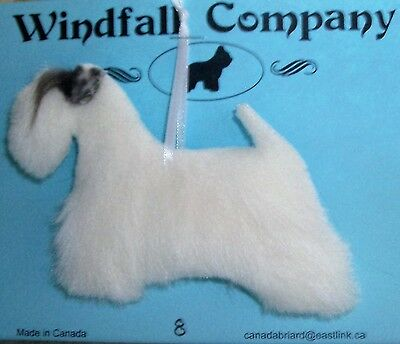 Sealyham Terrier Dog Soft Plush Canine Christmas Ornament # 8 by WC