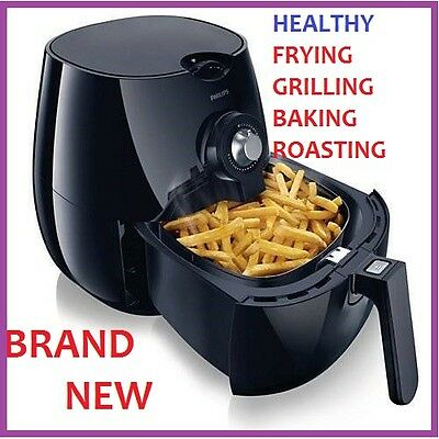 NEW Philips Airfryer HD9220/20BLACK HEALTHY FRY 2YEAR GUARANTE Today Only Sale✔️