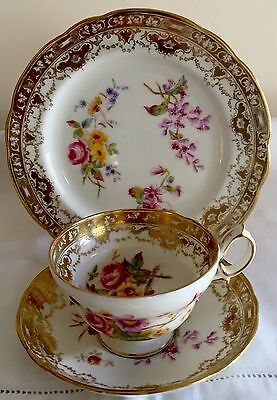 Hammersley Hand Painted Trio Cup Plate Saucer Up To 2 Sets Available