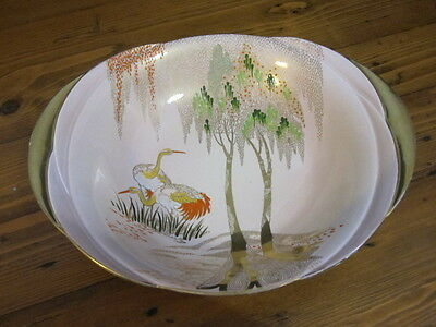 Carlton Ware Small Stork and Willow Bowl