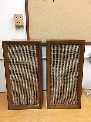 """Lafayette SK-98 8"""" speaker pair in cabinets (Altec 755A)"""