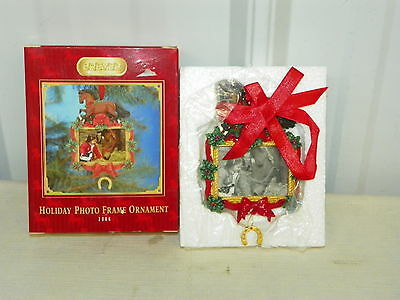 BREYER 700716 Christmas 2006 Holiday Photo Frame Ornament NEW IN BOX