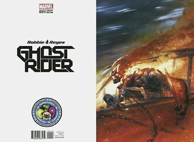 Now Ghost Rider 1 Gabriele Dell Otto Secret Virgin Variant PRE-SALE Marvel 500