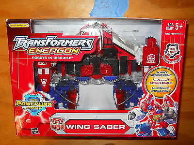 Bx_2 Transformers Energon WING SABER Combines W/ Optimus Prime omega cybertron