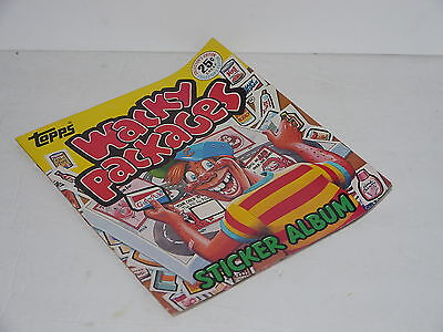 1982 Topps Wacky Packages Sticker album Unused