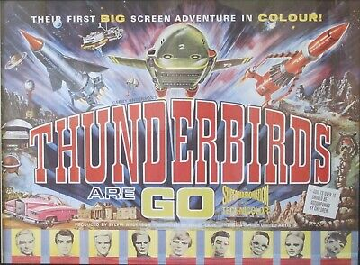 Thunderbirds Are Go! Thunderbirds Original Movie Poster from United Artists