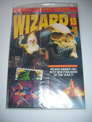 New, Sealed Wizard Price Guide # 13 with Cards September 1992
