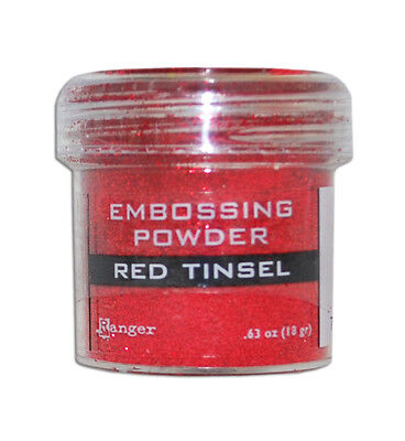 Ranger Ink Specialty 1 Embossing Powder Red Tinsel