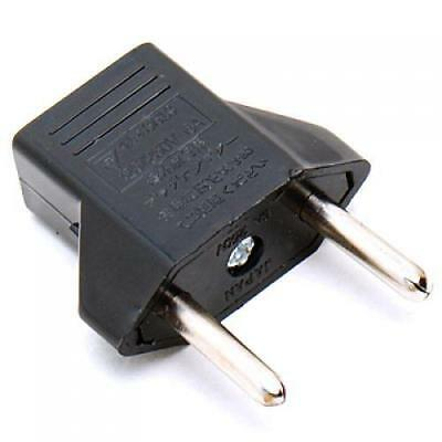 Universal Converting AC Plug from US to EU Travel Plug Outlet Adapter Converter