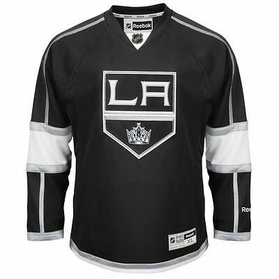 Reebok Premier LA Kings / Los Angeles NHL Jersey / Shirt  - Black / Home