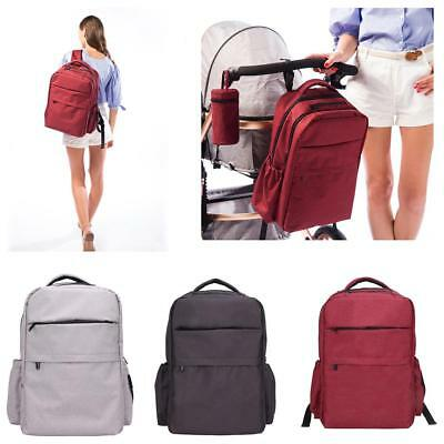 Large Mummy Baby Changing Diaper Nappy Shoulder Backpack Stroller Hanging Bags