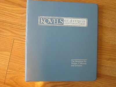 Kovels on Antiques & Collectibles NEWSLETTERS 2006-2007