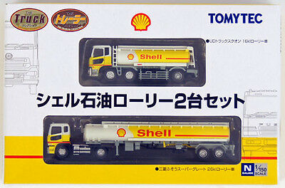 """Tomytec The Trailer Collection """"Shell"""" (2 Trailer Set) 1/150 N scale"""