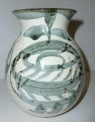 UNUSUAL Briglin art pottery decorative vase