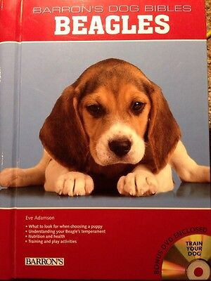 Barron's Dog Guide Beagles New Book With Dvd NEW