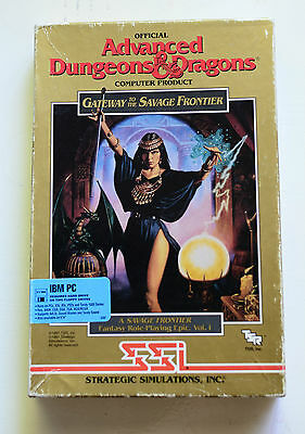 "Gateway to the Savage Frontier 3.5"" SSI AD&D Vintage Gold Box 1991"