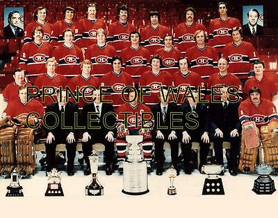 1978 Montreal Canadiens Team Photo 8X10