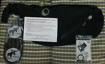 Moose zip bag and Mooseture Moisture control system for highland bagpipes pipes