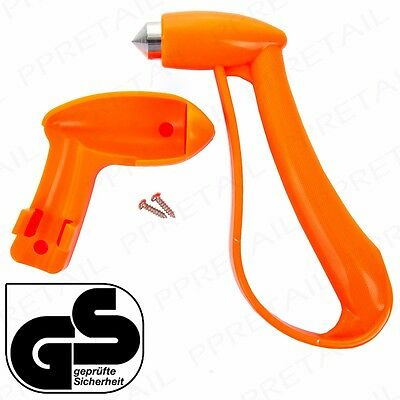 QUALITY EMERGENCY HAMMER Car/Van/Bus Safety Window Glass Breaker Escape Tool