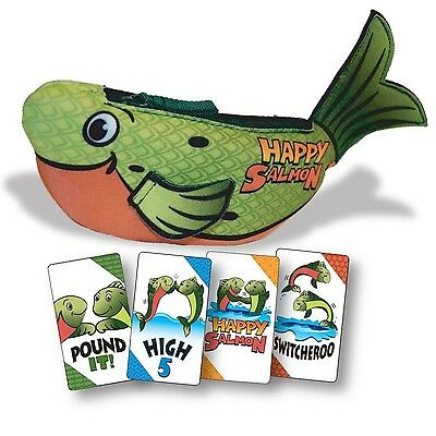 Happy Salmon Family Card Game