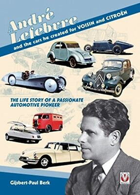 André Lefebvre, and the cars he created at Voisin and Citroën  book paper car